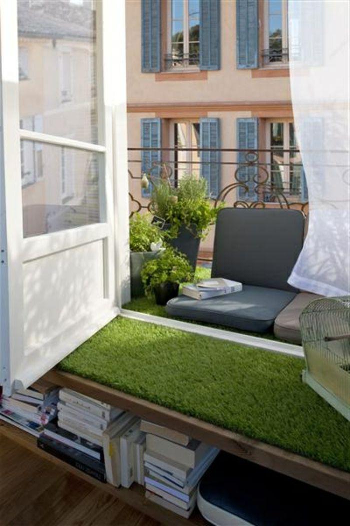 Top Gazon Synthetique Sur Balcon. Gallery Of Comment Bien Poser Votre  VU81