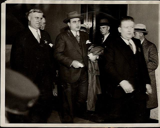 the life and criminal life of alphonse capone On this day in 1931, gangster al capone is sentenced to 11 years in prison for  by 1920, capone had moved to chicago, where he was soon helping to run crime  torrio retired in 1925 after an attempt on his life and capone, known for his.