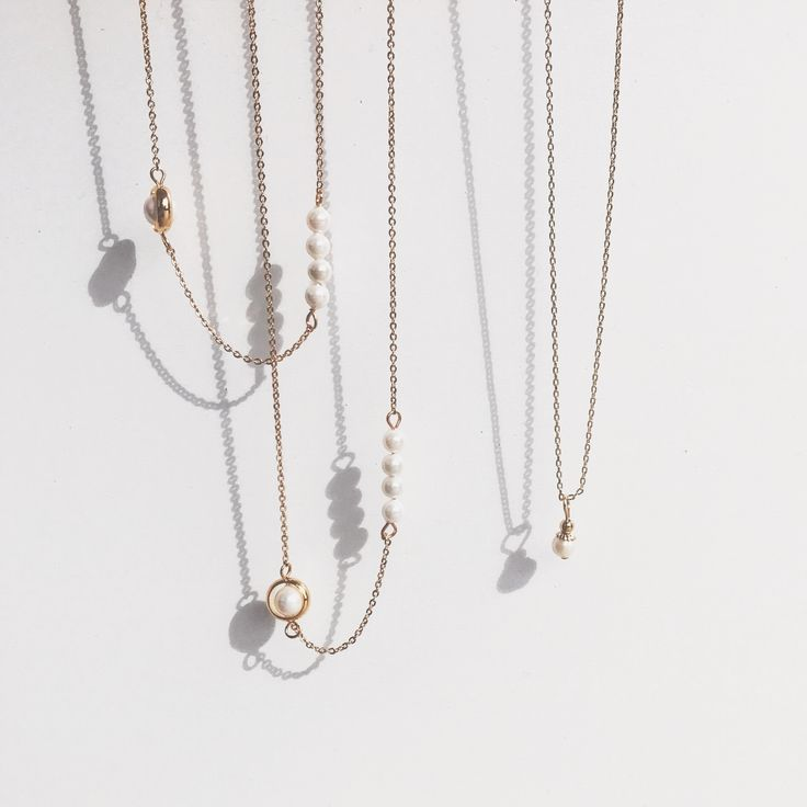 Pearl of June Necklaces