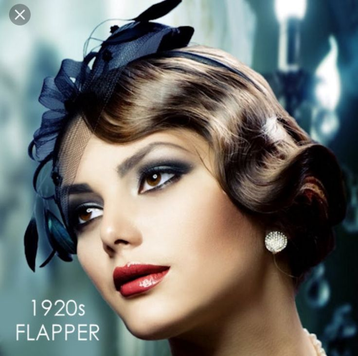 The makeup worn by the flappers was very dramatic and extravagant for the time. Women changed from a very plain to a adorned look with the addition of makeup. Dark eye shadows and red lipstick became statement looks for women in the 20's.