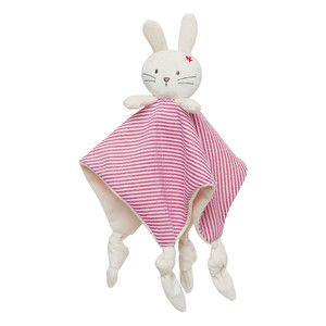 Red bunny nautical comforter