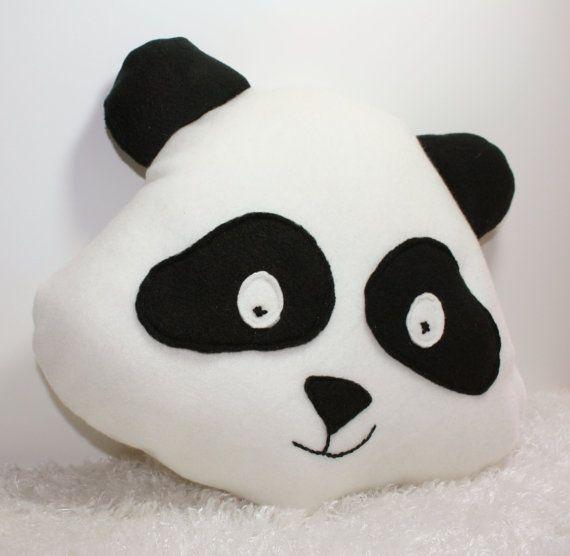 Panda Pillow Kids Pillow Plush Toy Kids Animal Pillow