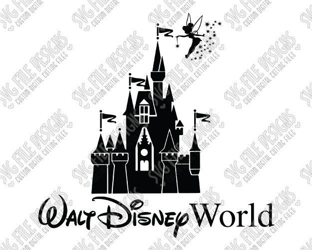 Cinderella Svg Cinderella Castle Svg Disney Svg Magic