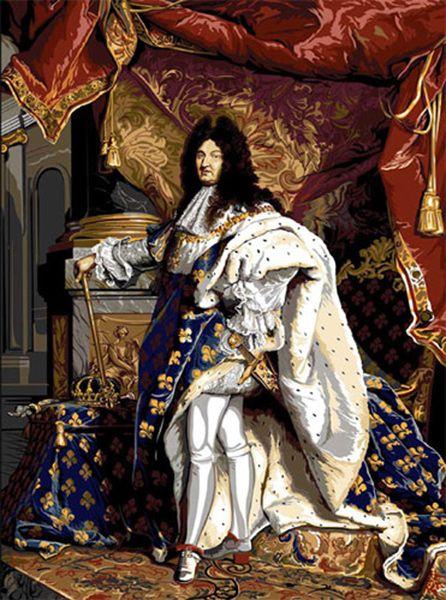 SEG de Paris Needlepoint Louis XIV Canvas