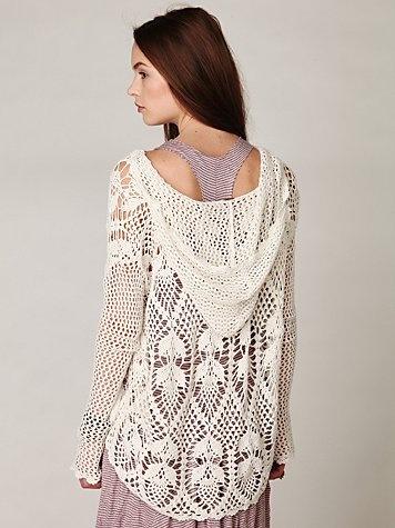 Pacifica Crochet Hoodie