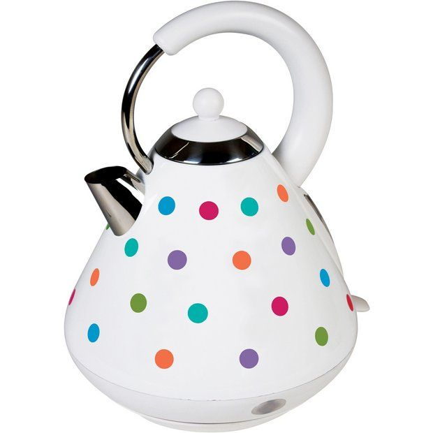 Buy Kitchen Originals Bright Spot Traditional Kettle by Kalorik at Argos.co.uk - Your Online Shop for Kettles, Kitchen electricals, Home and garden.