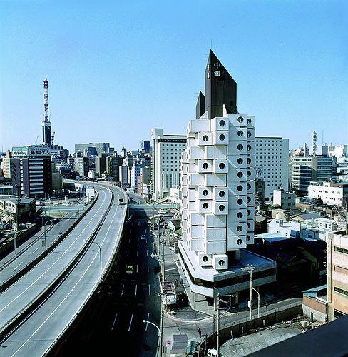 Kisho Kurokawa 黑川紀章 - 中銀膠囊大樓 Nakagin Capsule Tower