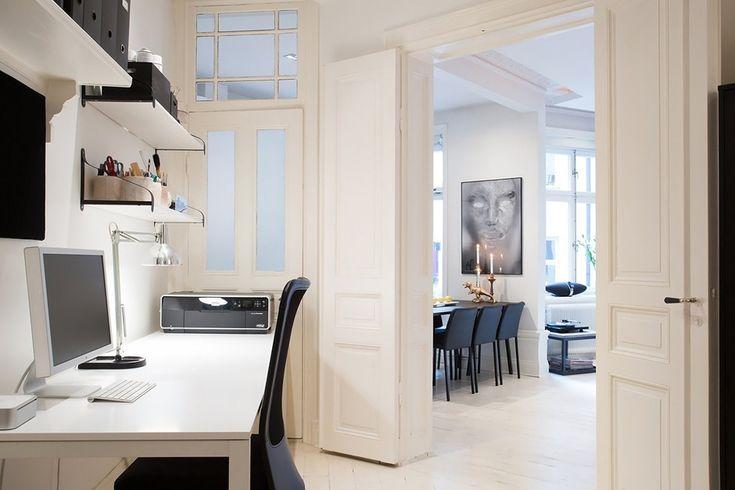 Квартира в Швеции в 62 кв. метра, скандинавский стиль