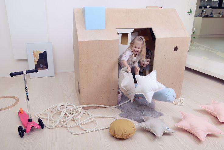 wooden play house! this wooden furniture became favourite place for children!  drewniany domek do zabawy!   pokój dziecięcy, pokój dla dziecka, kidsroom inspiration, eco furniture, ekologiczne meble dla dzieci, wooden, play house, meble, kids dream