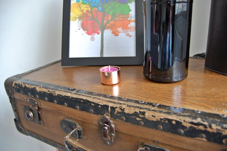 Pure Copper Tea Light Holder (Yankee Candle)
