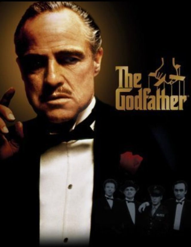 The Godfather (1972) - Very uninhibited in it's roughness, interesting in it's mafia-like scenarios, and curious in it's transformation of Michael Corleone.