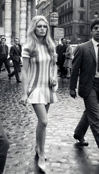 Brigitte Bardot: she makes me want to live in the 60s.