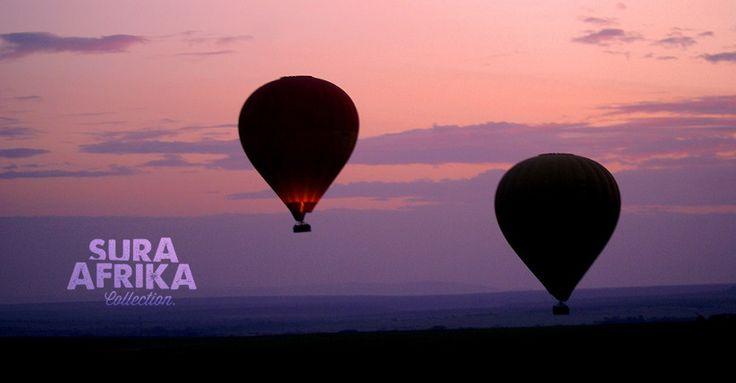 Hot air balloon safari in both Masai Mara National Reserve and Serengeti National Park. The experience from up above.  #SuraAfrika luxury travels everywhere...  #luxurysafaricamps #Safari #Africa #Serengeti #nature  www.suraafrikasafaricamps.com