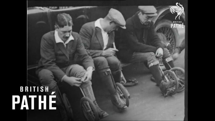 Cycle-Skating - The New Sport of 1923