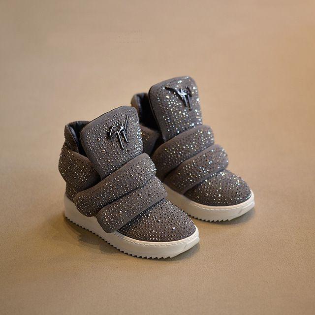 branded footwear children sneakers ankle rivet strap kinderschoenen kids shoes for girl & boy fashion chaussure