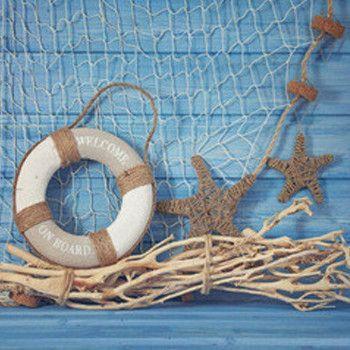 Tecido Fino pano Impresso fotografia fundo 5X7ft Verão azul, azul marinho, vida marinha, bóia foto cenário F-1300