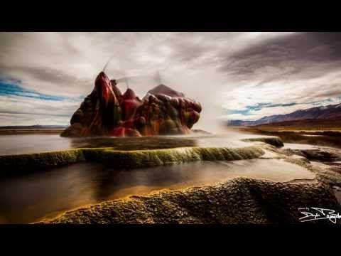 Fly Geyser - Black Rock Desert - Nevada / U.S.A. - YouTube