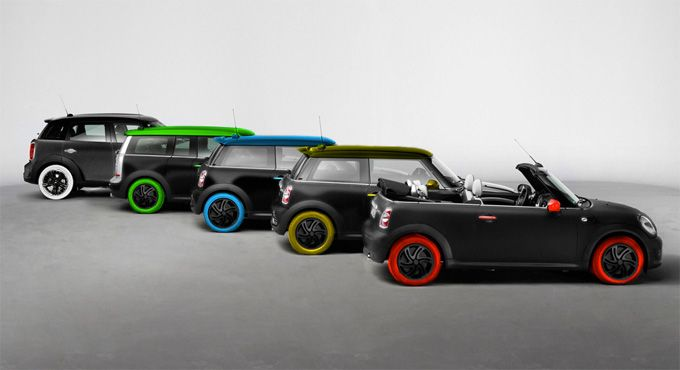 lots of minis