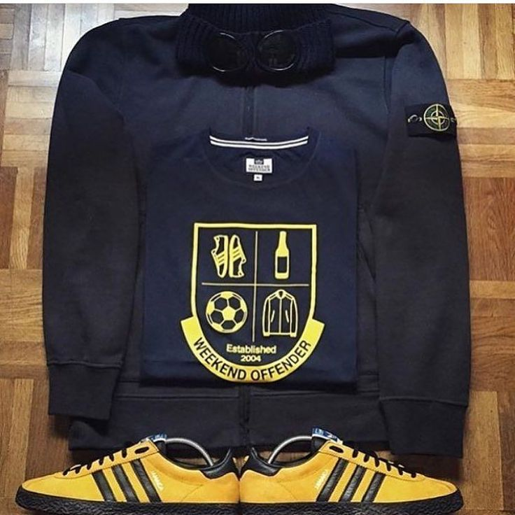 Away Days - nice combo of Jamaicas, Stone Island and Weekend Offender