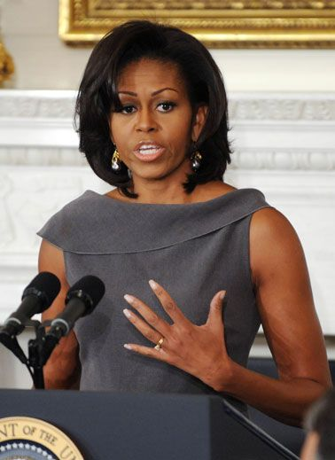 Michelle Obama. Quit her $250,000 a year job to support her husband in his quest to become the first black president.