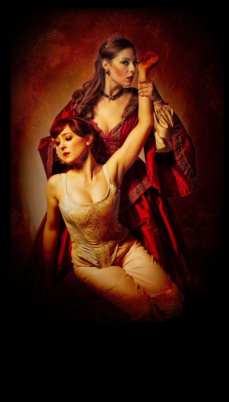 Poster art for the ballet THE BLOOD COUNTESS, based on Elizabeth Bathory