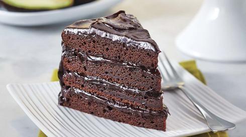 avocat chocolat gâteau