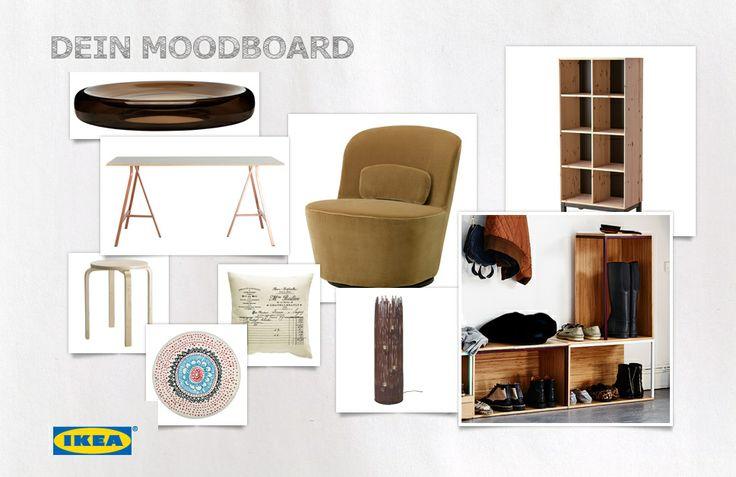 hast du schon mal ein moodboard gebastelt das ist gar nicht schwer und macht richtig spa so. Black Bedroom Furniture Sets. Home Design Ideas