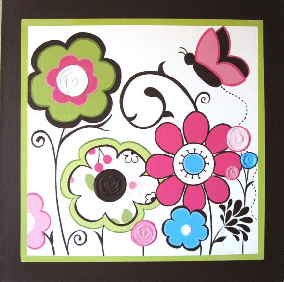 Nursey Wall Art for Children Pink Green and Brown Cocalo Taffy Large set of  sc 1 st  Pinterest & 14 best Cocalo taffy images on Pinterest | Nursery ideas Child room ...
