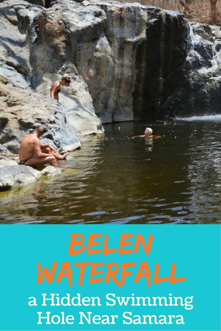 Belen Waterfall is a little-known cascade and swimming hole near Samara, Costa Rica. It is well hidden so you'll want to check out this guide for detailed driving directions and more info.