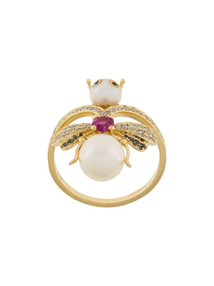 Yvonne Léon embellished ring