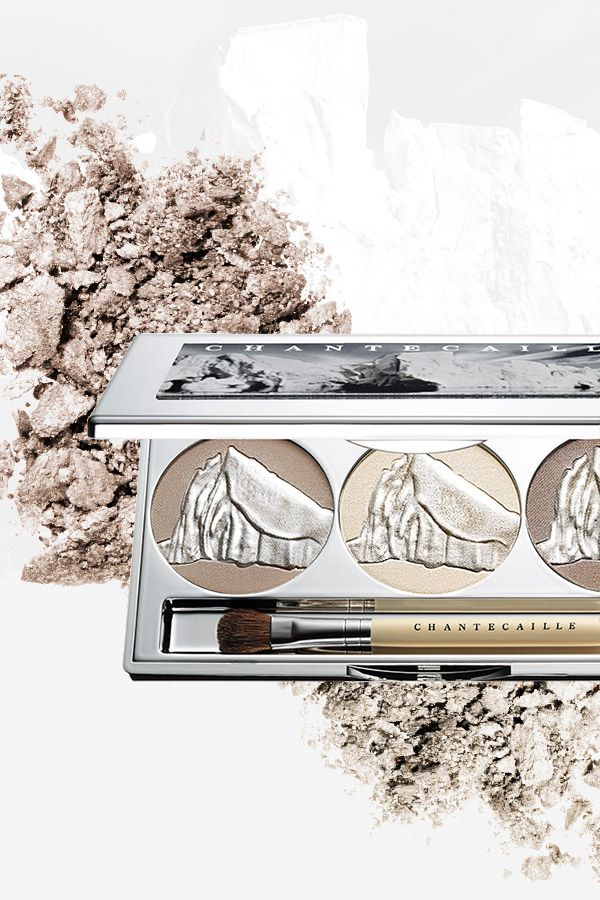 Introducing the limited-edition Glacier Eye Shade Trio by Chantecaille - a one-of-a-kind blend of three unique shades that embodies the smooth glisten of glacier ice. Discover a smooth, even finish with this magical palette.