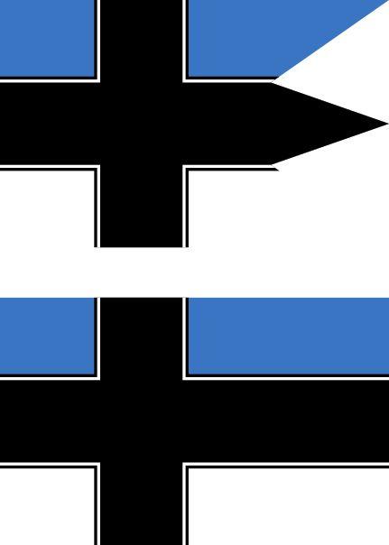 Nordic Estonia flag by SoaringAven