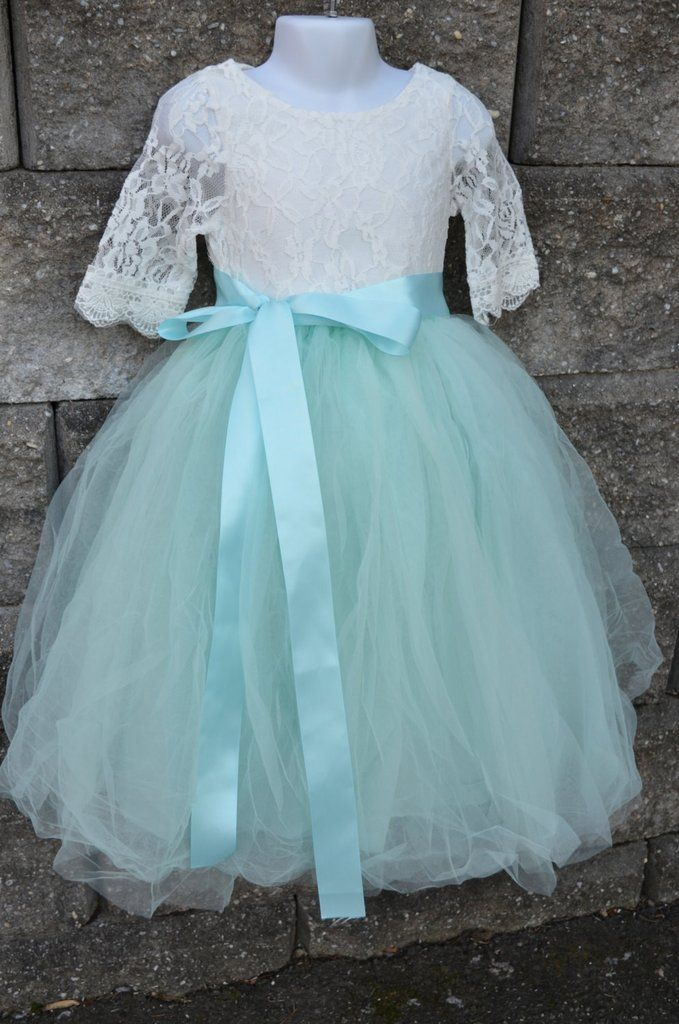47f75781c65 Aqua Mint Tulle Skirt