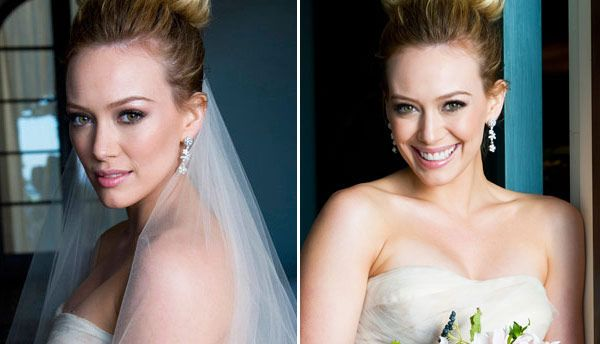 Hilary Duff's wedding makeup is perfect!