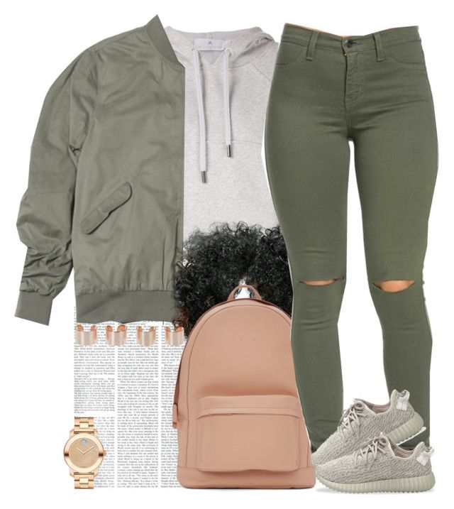 """""""Yuh not nice, yuh rude. """" by livelifefreelyy ❤ liked on Polyvore featuring adidas, PB 0110, adidas Originals, Movado and Maison Margiela"""