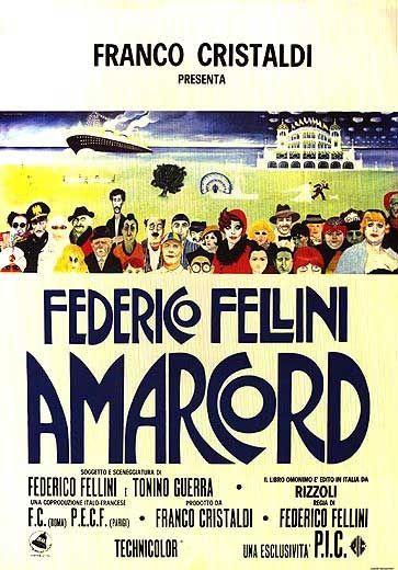Amarcord, scheda del film diretto da Federico Fellini con Pupella Maggio, Armando Brancia, Magali Noël, Ciccio Ingrassia, Nando Orfei, Luigi Rossi, leggi la trama, guarda la locandina, scopri il cast, scrivi un commento