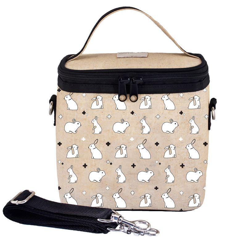 RAW LINEN - Bunny Tile Small Cooler Bag