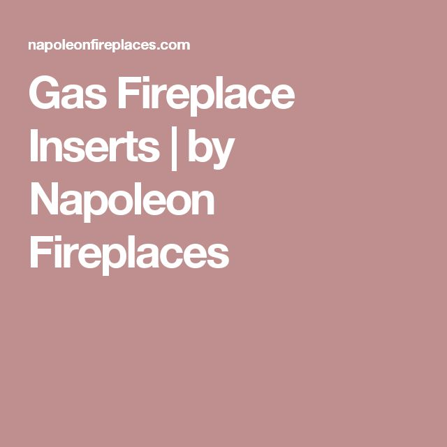 Gas Fireplace Inserts   by Napoleon Fireplaces