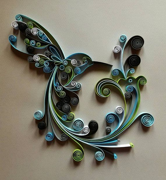 Best 25 paper wall decor ideas on pinterest diy wall for Decoration quilling