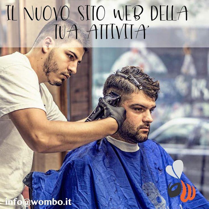 Se non hai ancora il sito web del tuo negozio di parrucchiere o se lo hai ma non ha alte performance scrivi ad info@wombo.it per ricevere un preventivo senza impegno. #web #website #sito #sitoweb #online #design #responsive #seo #hairstylist #hairstyle #hairstyles #parrucchiere #parrucchiereroma #parrucchieremilano #milanoparrucchieri #parrucchieri #parrucchierimilano #picoftheday #bestoftheday #photoofday #milan #milano #womboit