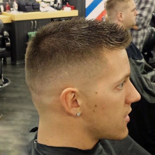 high and tight and perhaps the beginnings of an undercut