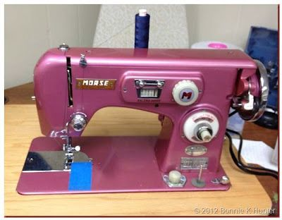 1950's Morse sewing machine, made by Toyota in Japan