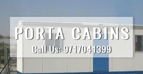 Portable Cabins are mainly designed for site office, storage, toilets, hospitals and much more. #porta_cabin_dealers #porta_cabins #portable_cabin_manufacturers_in_Delhi_NCR
