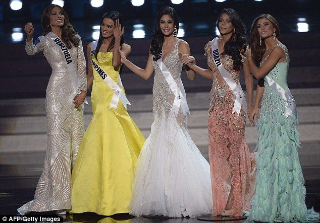 Review of Miss Universe 2013 Top 5 Evening Gowns