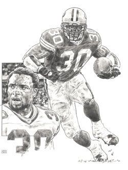 Ahman Green Green Bay Packers Lithograph Limited Edition Artwork By Michael Mellett Packers Lithograph Collection by HOFGROUP on Etsy