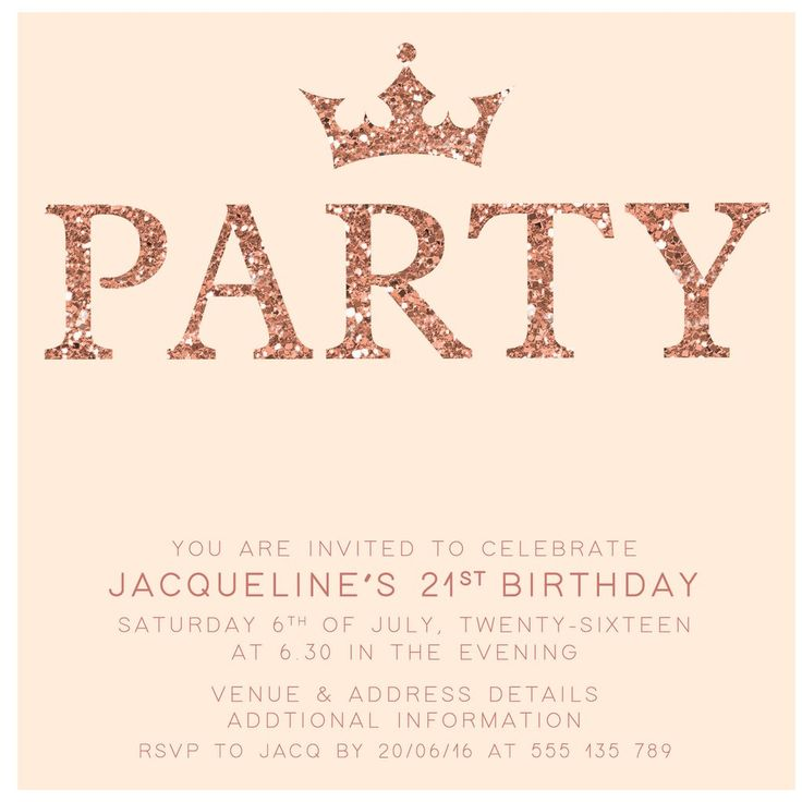 Adult Birthday Invitation Template - jeppefm.tk