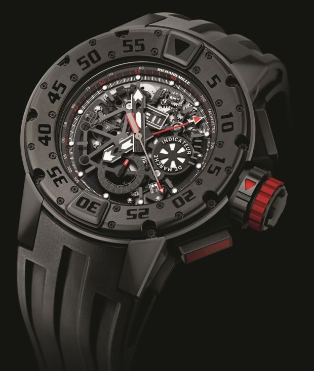 Richard Mille RM032 Dark Diver Titanium