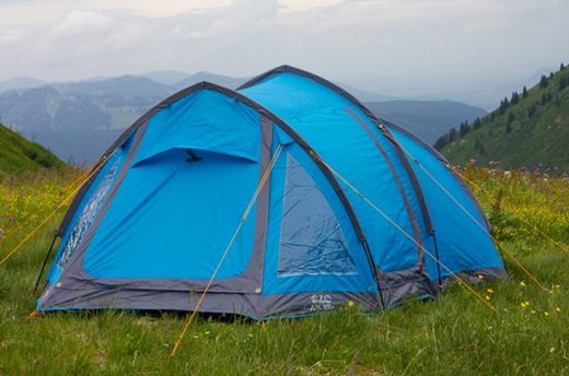 This Vango Art 300+ tunnel tent by The Ark Plus with lantern hanging points costs £130.22 at Outdoorgear UK.