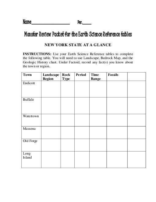 geology earth science worksheet answer geology best free. Black Bedroom Furniture Sets. Home Design Ideas