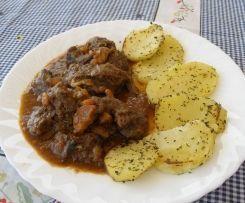 Ternera en salsa con patatas al varoma